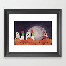 The Great Pumpkin Framed Art Print