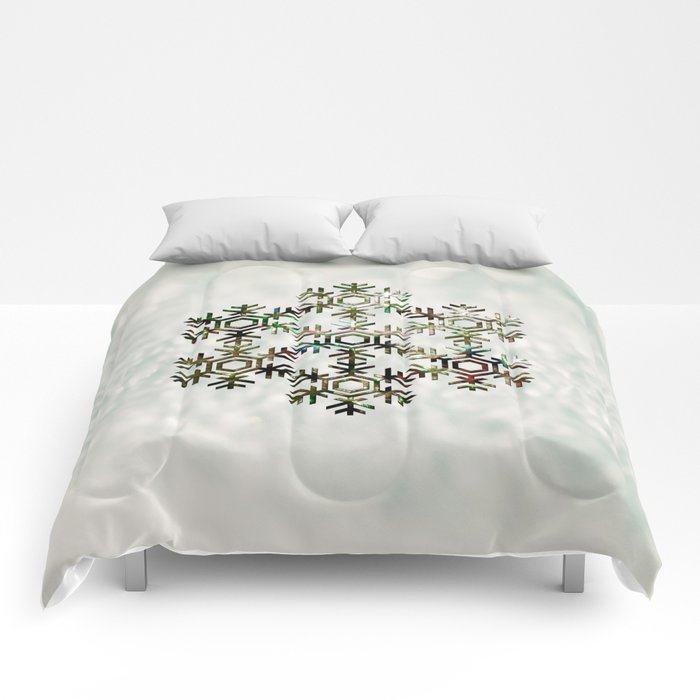 The Flower of Ice Comforters