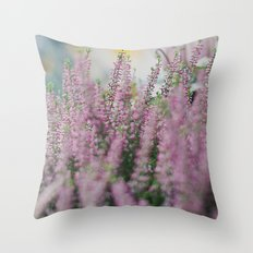 Lovely Pink. Throw Pillow