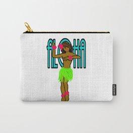 Hawaii Aloha Hula Girl Carry-All Pouch