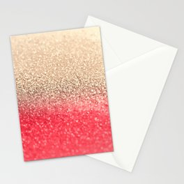 GOLD CORAL Stationery Cards