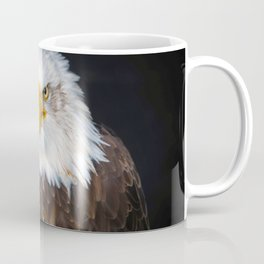 Fascinating Magnificent American Bald Head Eagle Close Up Ultra HD Coffee Mug