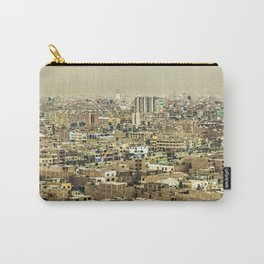 Aerial View of Lima Outskirt, Peru Carry-All Pouch