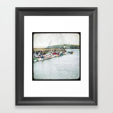Houat #7 Framed Art Print