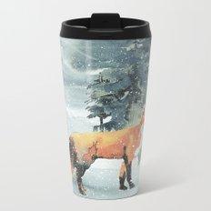 Winterly Forest 4 Metal Travel Mug
