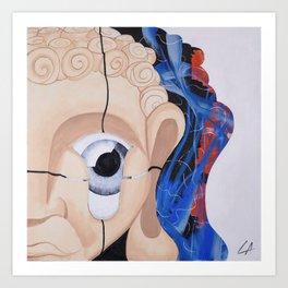 After meditation Art Print