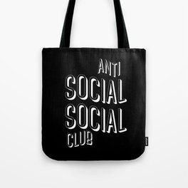 Anti Social Social Club Tote Bag
