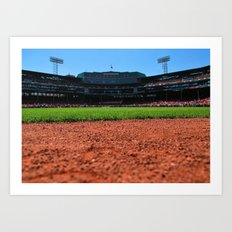 From Centerfield - Boston Fenway Park, Red Sox Art Print