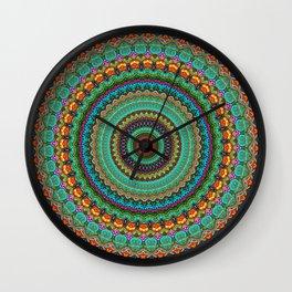bohemian rhapsody  Mandala Wall Clock
