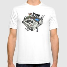 Pimped MPC Mens Fitted Tee White MEDIUM