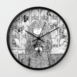 Papilion gestation Wall Clock