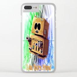 I Am You're Friend Clear iPhone Case