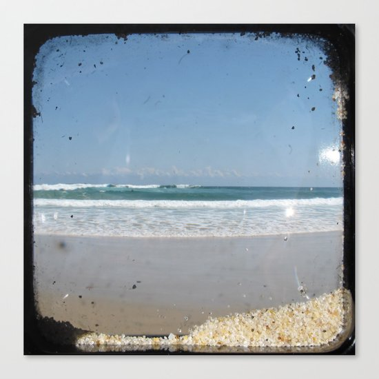 The Beach - Through The Viewfinder (TTV) Canvas Print