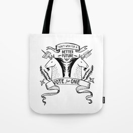 Double Unicorn Tote Bag