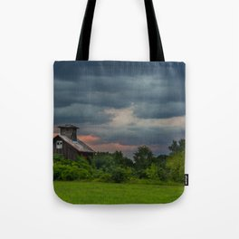 Stormy Skies in the Finger Lakes Tote Bag