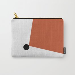 Minimal red abstract Carry-All Pouch