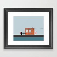 Vector Building Series (Bristol)  Framed Art Print