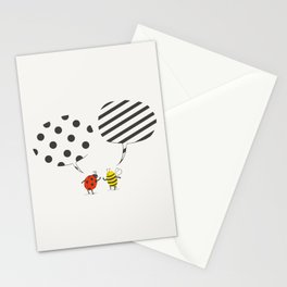Pattern conflict Stationery Cards