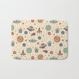 Cute Universe Bath Mat