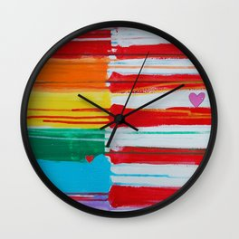 Flags for the Future 10 Wall Clock
