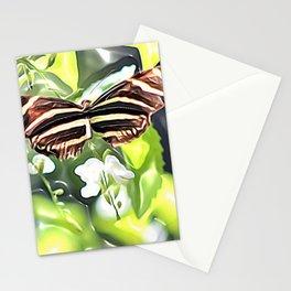 Butterfly Landing Stationery Cards