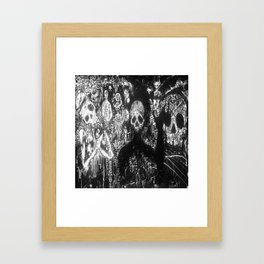 Day Of The Dead Framed Art Print