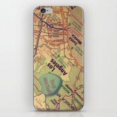 Dream Big Los Angeles iPhone & iPod Skin