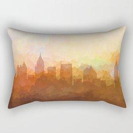 Atlanta, Georgia Skyline - In the Clouds Rectangular Pillow