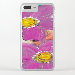 GARDEN DELIGHT Clear iPhone Case