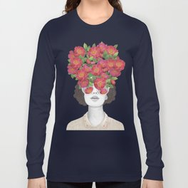 The optimist // rose tinted glasses Long Sleeve T-shirt