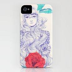 Flowery 02 Slim Case iPhone (4, 4s)