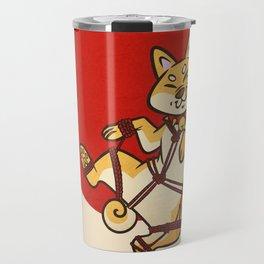 Shibari Inu Travel Mug