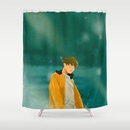 Euphoria Jungkook Shower Curtain