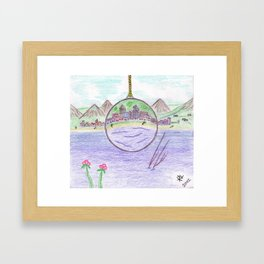 Lense of Gretia Framed Art Print