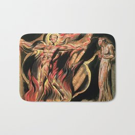 jerusalem the emanation of the giant albion william blake Bath Mat