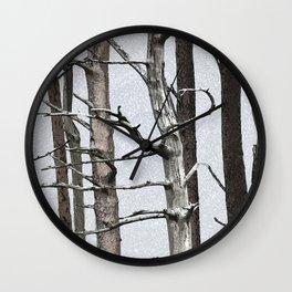 Tree life Part III Wall Clock