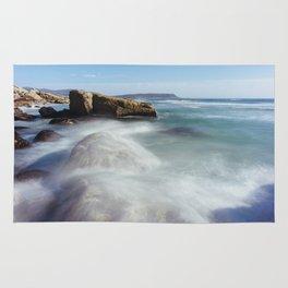 Noordhoek Beach - Long Exposure Seascape Rug