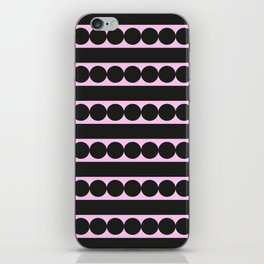 Dots and lines iPhone Skin