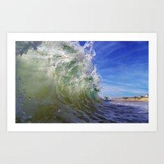 Shorebreak Art Print