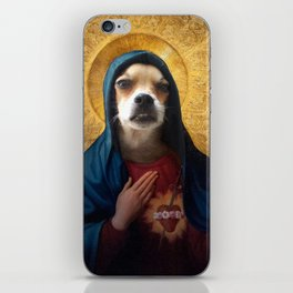 The Hairy Virgin iPhone Skin