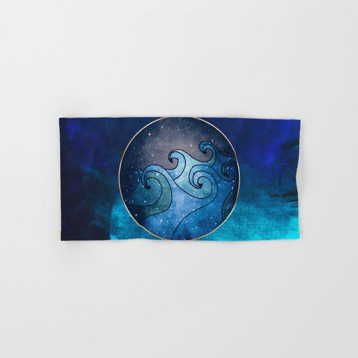 Waves Hand & Bath Towel