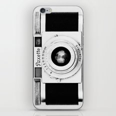 Paxette vintage camera iPhone & iPod Skin