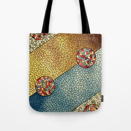 Shiny Buttons Tote Bag