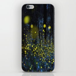 Fireflies iPhone Skin