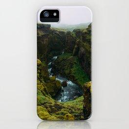 Fimmvörðuháls iPhone Case