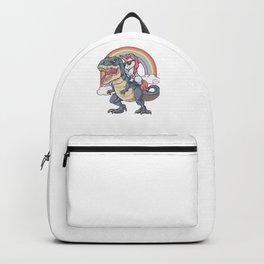 Unicorn Riding Dinosaur Backpack