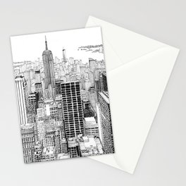 Above the City Stationery Cards