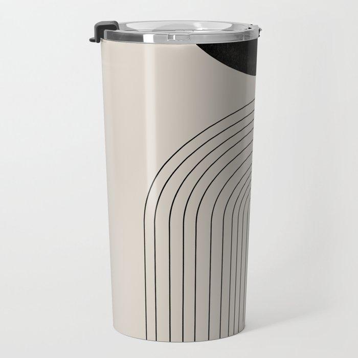 Arch, geometric modern art Travel Mug