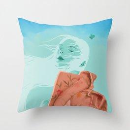 Cloud Hero Throw Pillow