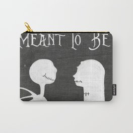 Chalkboard Meant To Be, Jack & Sally Carry-All Pouch